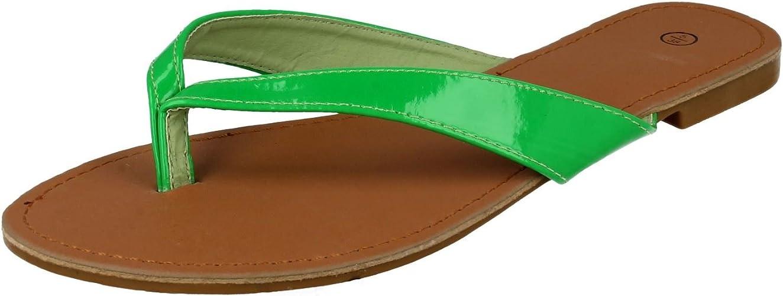 Spot On Ladies Toe Post Sandals: Amazon