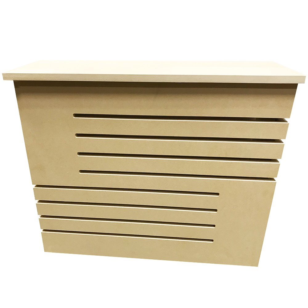Unfinished MDF Radiator Heater Cover, 32''Tall x 16''Wide x 9'' Deep - CHOOSE YOUR SIZE - Model MD14