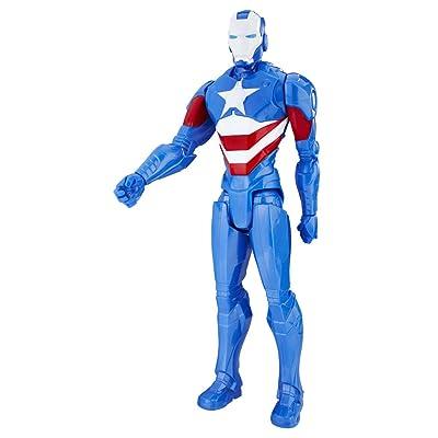 Avengers Marvel Figura Titan Iron Patriot (Hasbro C1493ES0): Juguetes y juegos