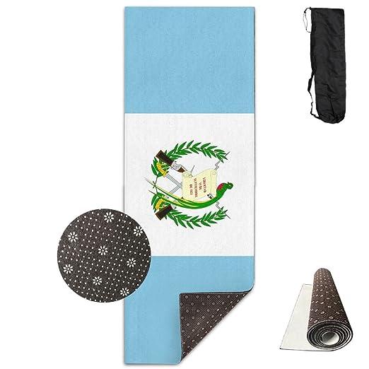 Ymin Alfombrilla de Yoga con diseño de Bandera de Guatemala ...