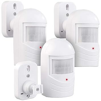 VisorTech - Alarma Falsa (3 Unidades, Sensor de Movimiento ...
