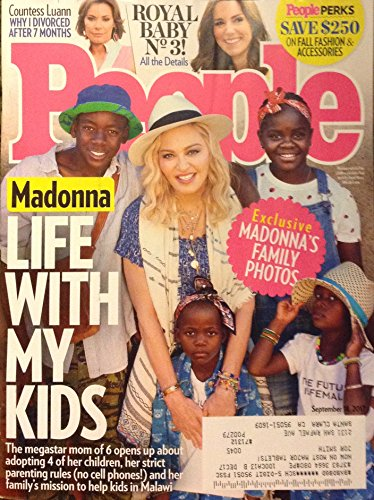 People Magazine (September 18, 2017) Madonna: Life With My Kids