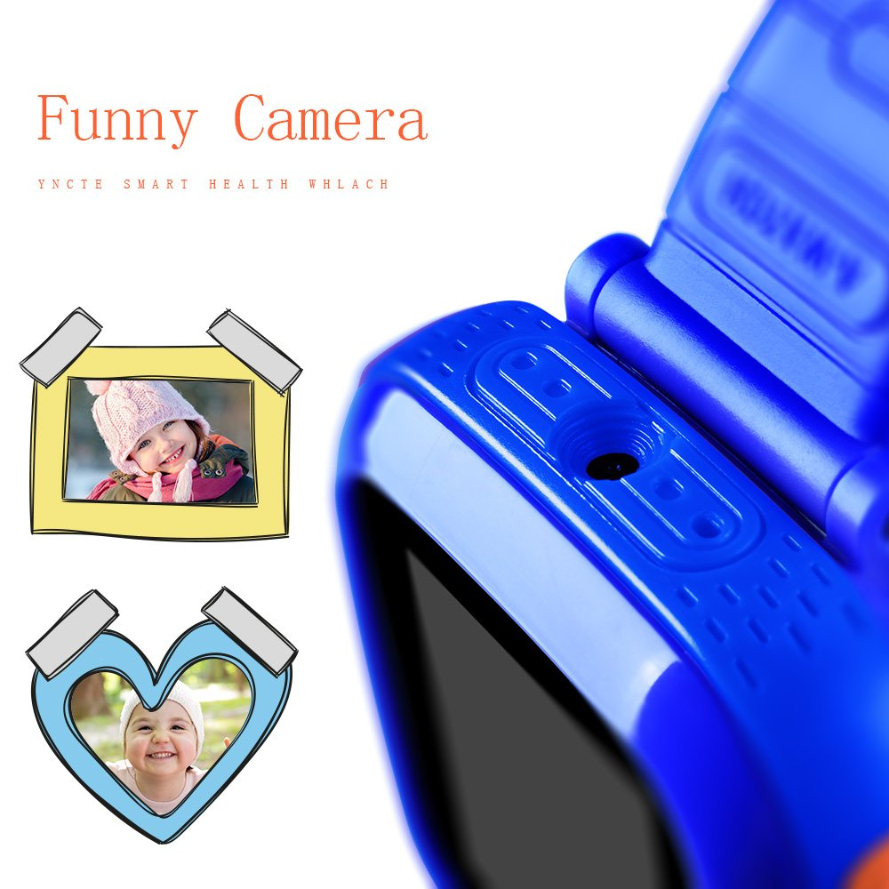 YNCTE Smart Watch for Kids with Digital Camera Games Touch Screen, Cool Toys Watch Gifts for Girls Boys Children by YNCTE (Image #5)