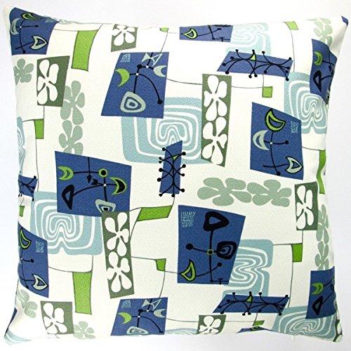 Artisan Pillows Indoor Hawaiian Tropical Island Modern Abstract Coastal Beach Accent 20x20 Throw Pillow With Poly Insert