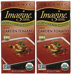 Imagine Organic Creamy Garden Tomato Soup, 32 oz, 2 pk