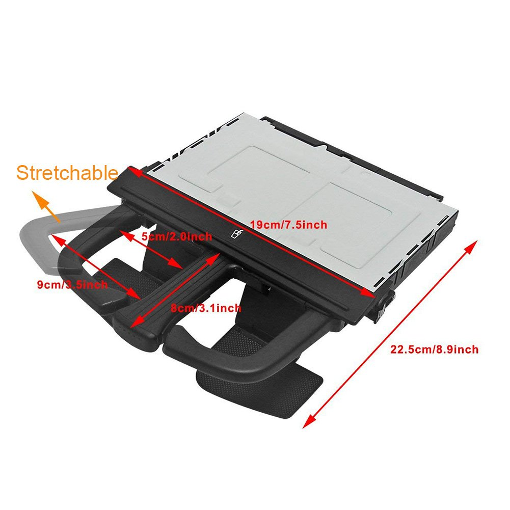 PerGrate Protective Anti-slip Front Dashboard Cup Holder for VW Bora/Jetta MK4/Golf 1j0858601 Fix