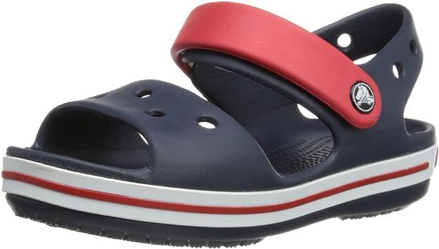 Crocs,Crocs Unisex Kids' Sandale Marine/Rouge Mixte Enfants Flip Flops,Croc's,12856-485