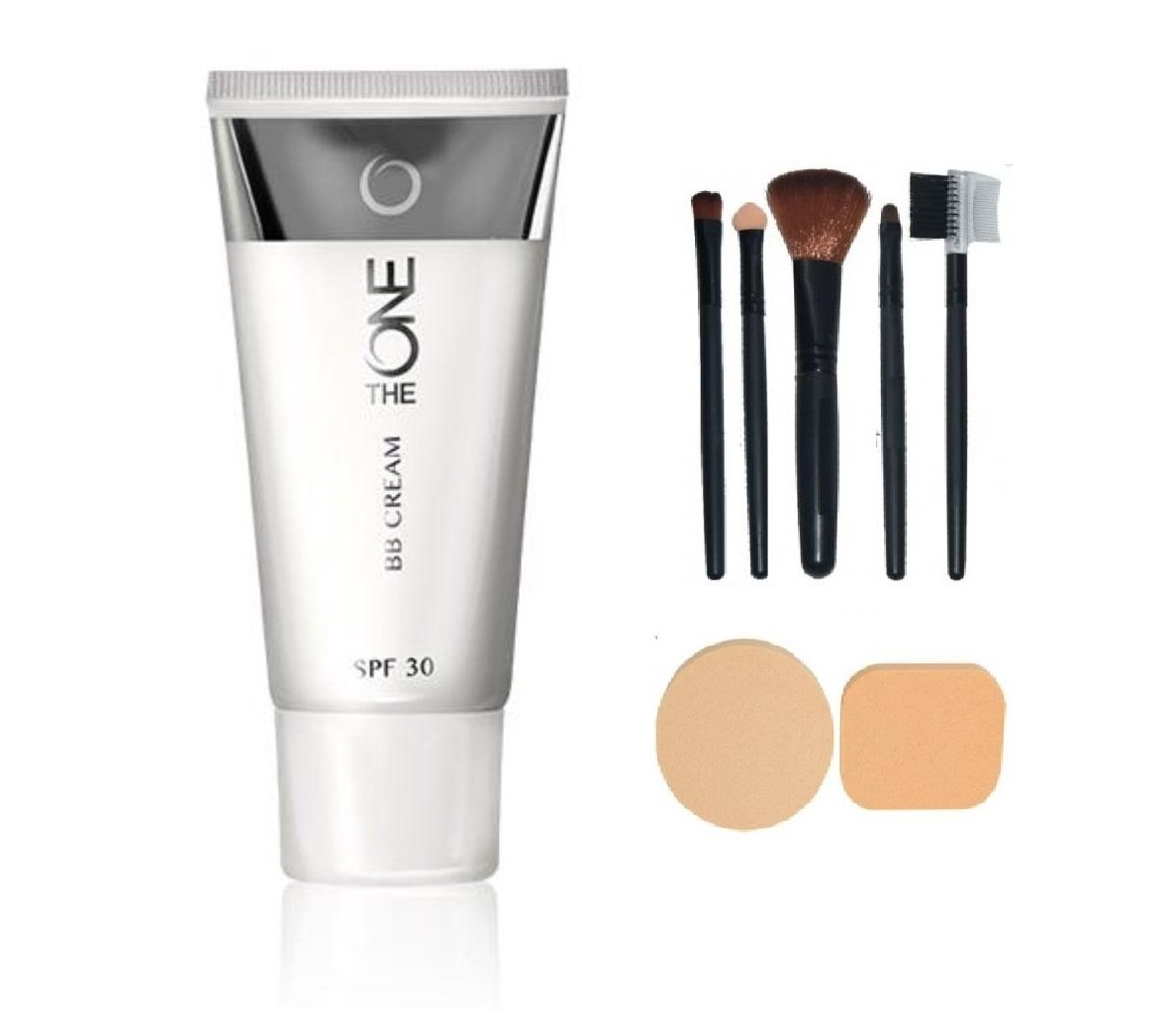 Buy Oriflame Sweden Bb Cream Foundation Light Spf 30 With Make Up Giordani Gold Cc 35 Brush Set 5 Pcs Compact Powder Puff 2 Online At Low Prices In India