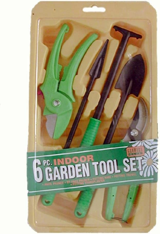 Master Craft GA1015-LB 6-Piece Indoor Garden Tool Set