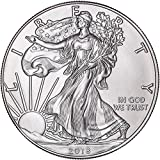 COINS  Amazon, модель  2018 American Silver Eagle with capsule $1 Brilliant Uncirculated US Mint with a Custom Gift Box, артикул B0797J8R11