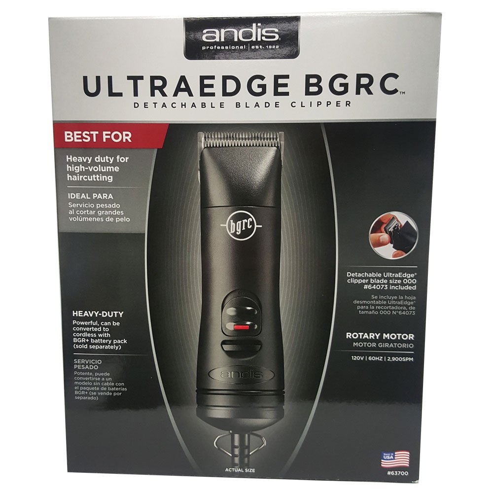 Andis Professional Bgrc Ultraedge Hair Clipper 63700 – Barber Salon Haircut Great Quality