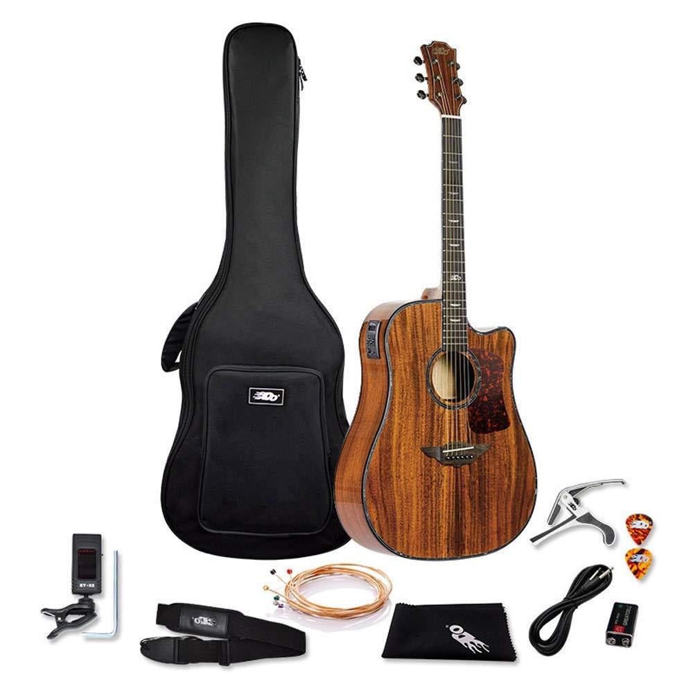 Boll-ATur Chapa de 41 pulgadas Caja eléctrica Guitarra Balada ...