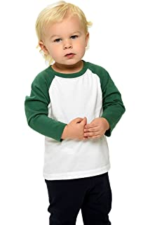 f0c135422 Amazon.com: American Apparel Infant Poly-Cotton 3/4 Sleeve Raglan ...