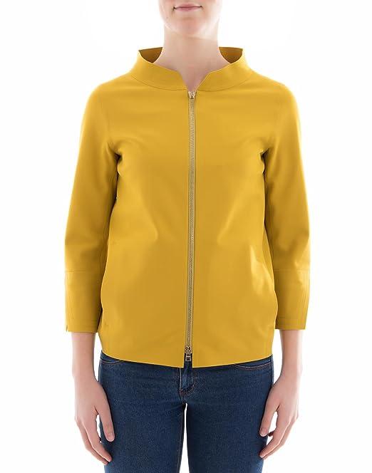 Herno Abrigo - para mujer amarillo Marke Talla 48: Amazon.es: Ropa y accesorios