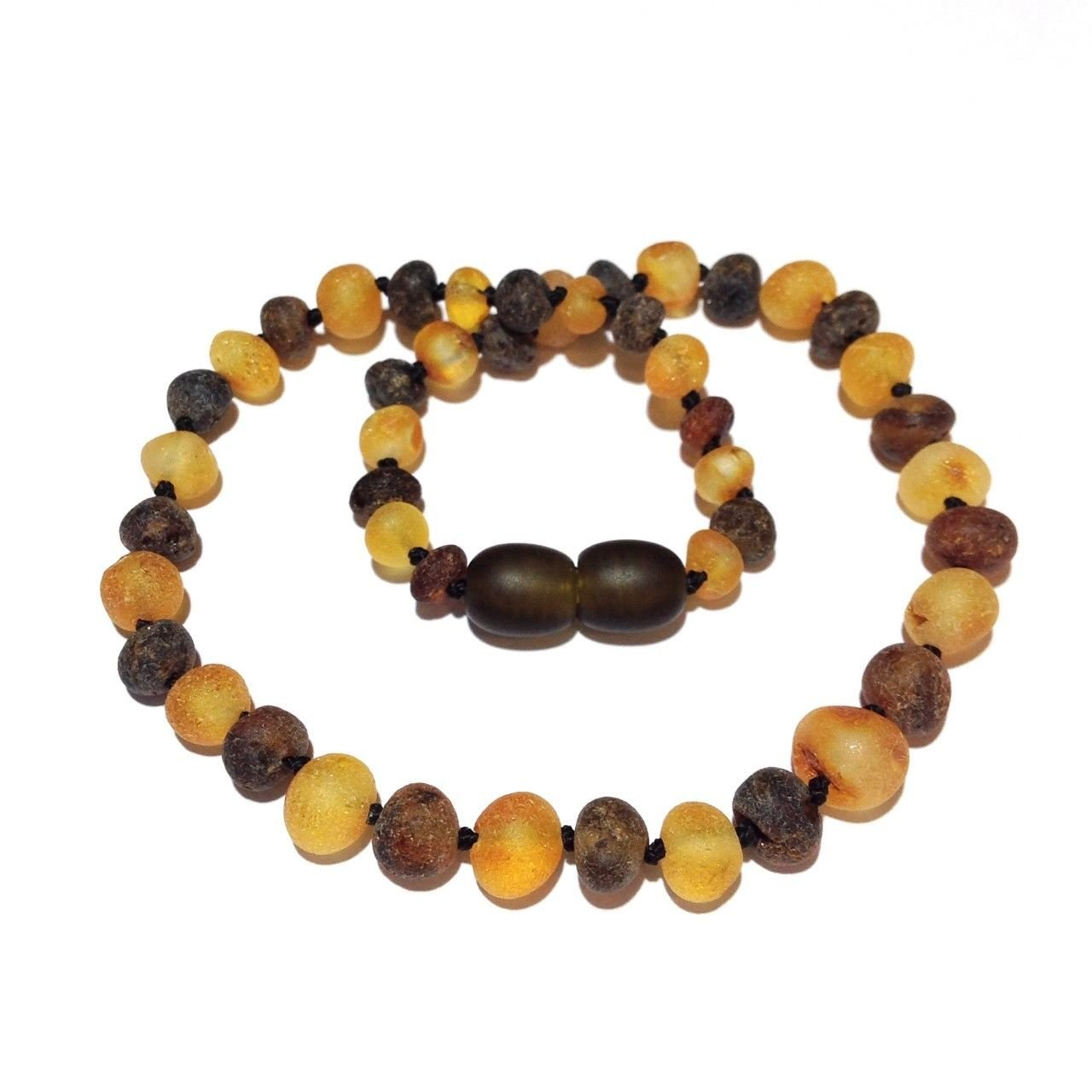 Jewellery & Watches Anklets Child Pippin Raw Green Honey Baltic Amber Anklet Bracelet