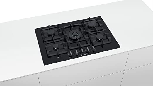 Bosch Serie 6 PPQ7A6B90 hobs Negro Integrado Encimera de gas ...