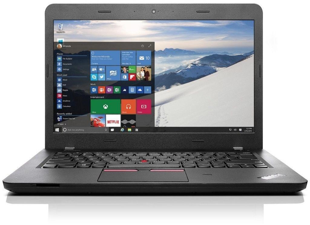 CUK Lenovo ThinkPad Edge E470 14'' Notebook PC (i7-7500U, 16GB RAM, 512GB SSD, NVIDIA GeForce 940MX 2GB, Full HD, Windows 10 Pro) - 2017 Business Gaming Laptop Computer