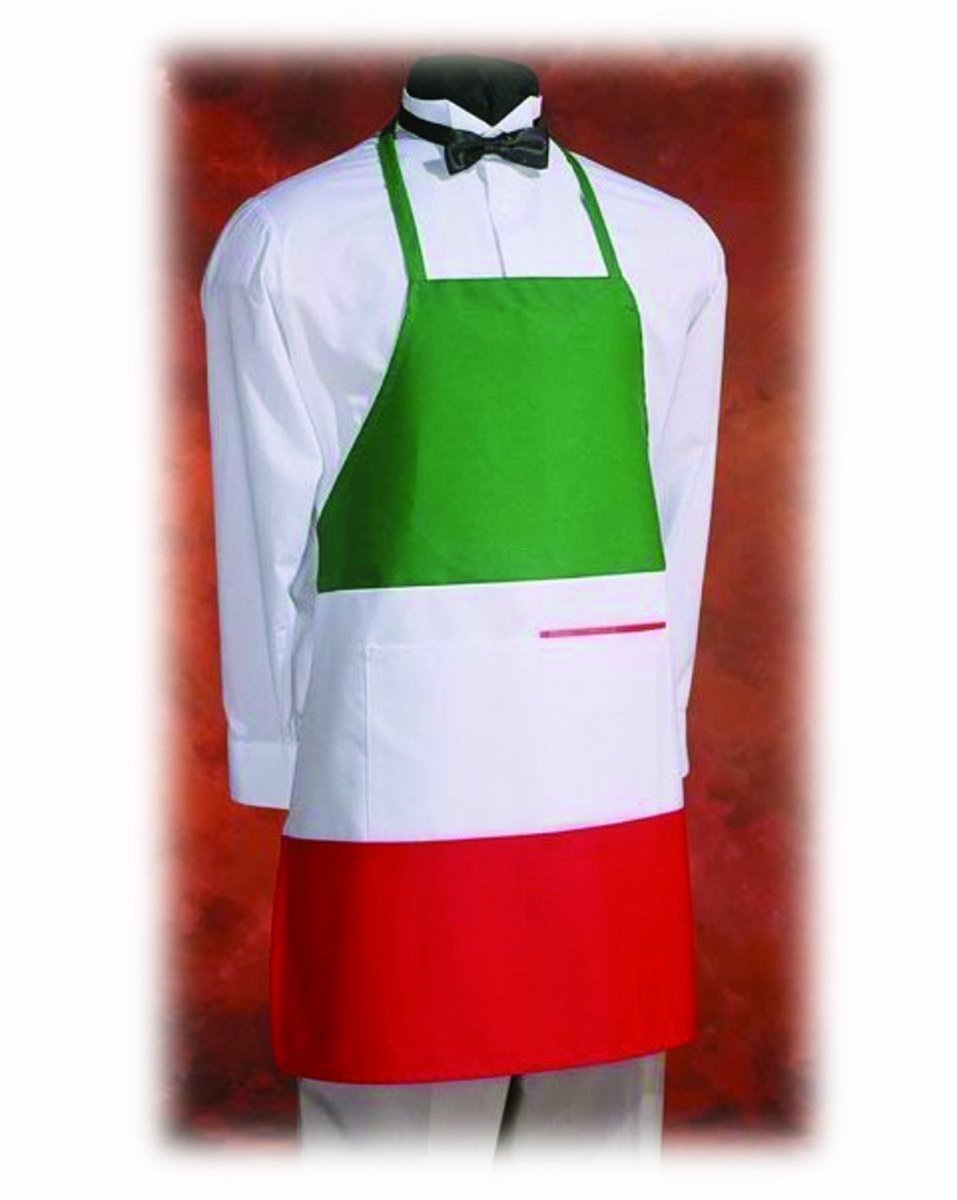 Crestware Commercial Grade, IBA, Italian Bib Apron (Package of 3) by Crestware