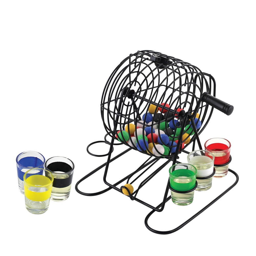 Bingo Shot Glass Drinking Game Set by Table Top Game