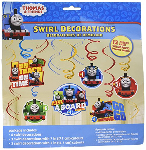 Amscan Thomas All Aboard Swirl Value Pack, Party Favor