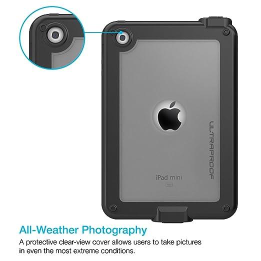 ultraproof sólo funda protectora impermeable para iPad Mini/iPad mini 2/iPad mini Retina [garantía de por vida] -slimmest Perfil con capacidad de ...