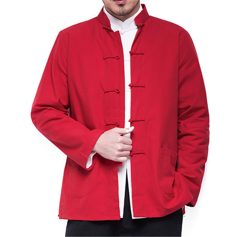 Amazon.com: Marvin Cook-Jacket Otoño Hombres Chino Algodón ...