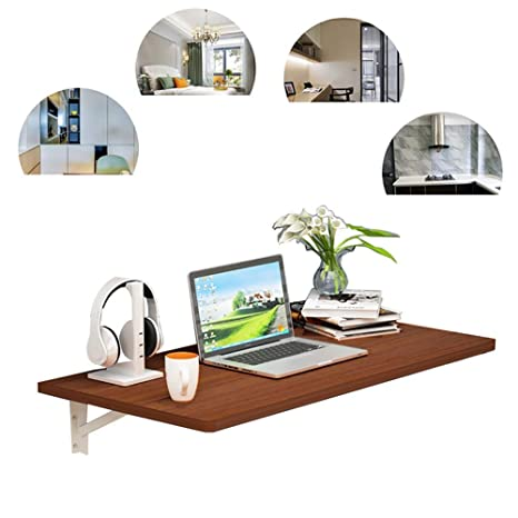 Amazon.com: Wall-Mounted Drop-Leaf Table,Small Spaces Fold ...