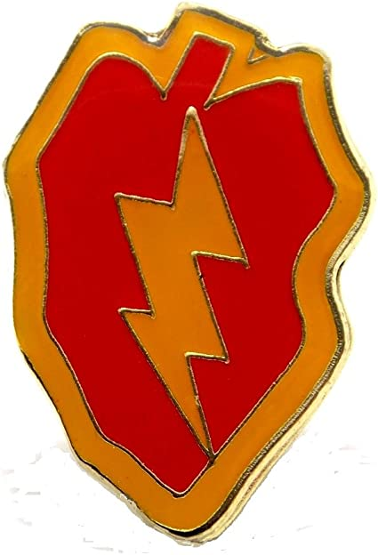 25th Infantry Division Pin US Army