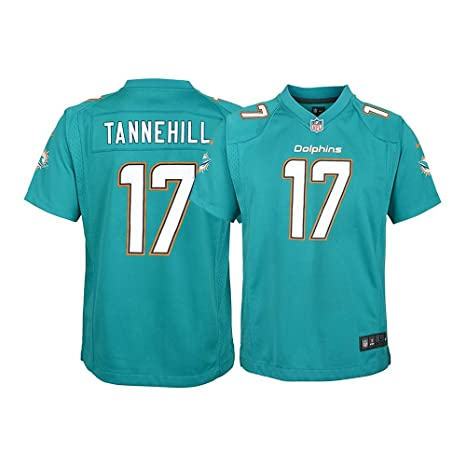 Amazon.com   Nike Ryan Tannehill Miami Dolphins NFL Youth Teal Home ... 1e3daf0e6