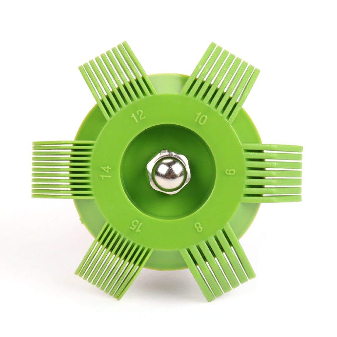 colore: verde e rosso Combustibile universale in plastica per auto con condensatore per radiatore condensatore per raddrizzatore per pettine per strumento di raffreddamento automatico