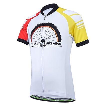 Amazon.com  JINZFJG-SX Children Cycling Clothing Bicycle Wear Short Sleeve  Jersey + Padded Shorts Sets Kids MTB Road Bike Suits Ropa de Ciclismo  M-2XL  ... 19609e0dd