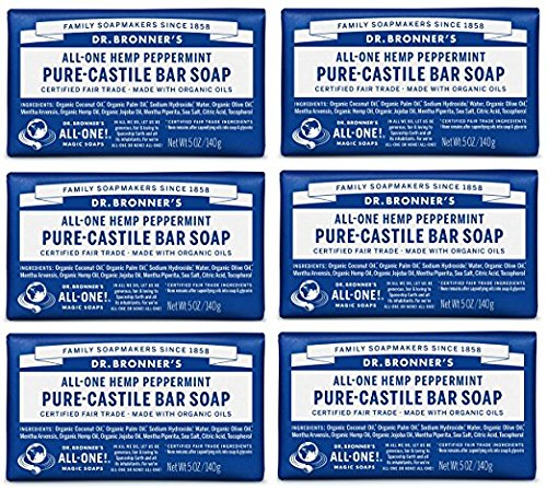 Dr. Bronner's - Organic Sugar Soap (Baby Unscented, 64 Ounce) - Made with Organic Oils, Sugar and Shikakai Powder, 4-in-1 Use: Hands, Body, Face and Hair, Moisturizes and Nourishes, No Added Fragrance