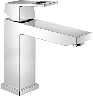 Grohe 23446000 Eurocube - Grifo de lavabo, Cuerpo liso, ...