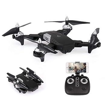 Goolsky- CS-7 Drone con cámara 480P WiFi FPV Drone Altitud Control ...
