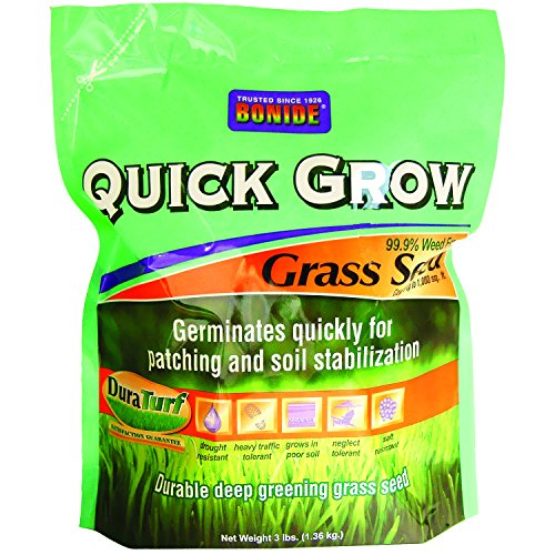 Quick Seed Grow Grass (Bonide 60261 Quick Grow Grass Seed, 3-Pound)