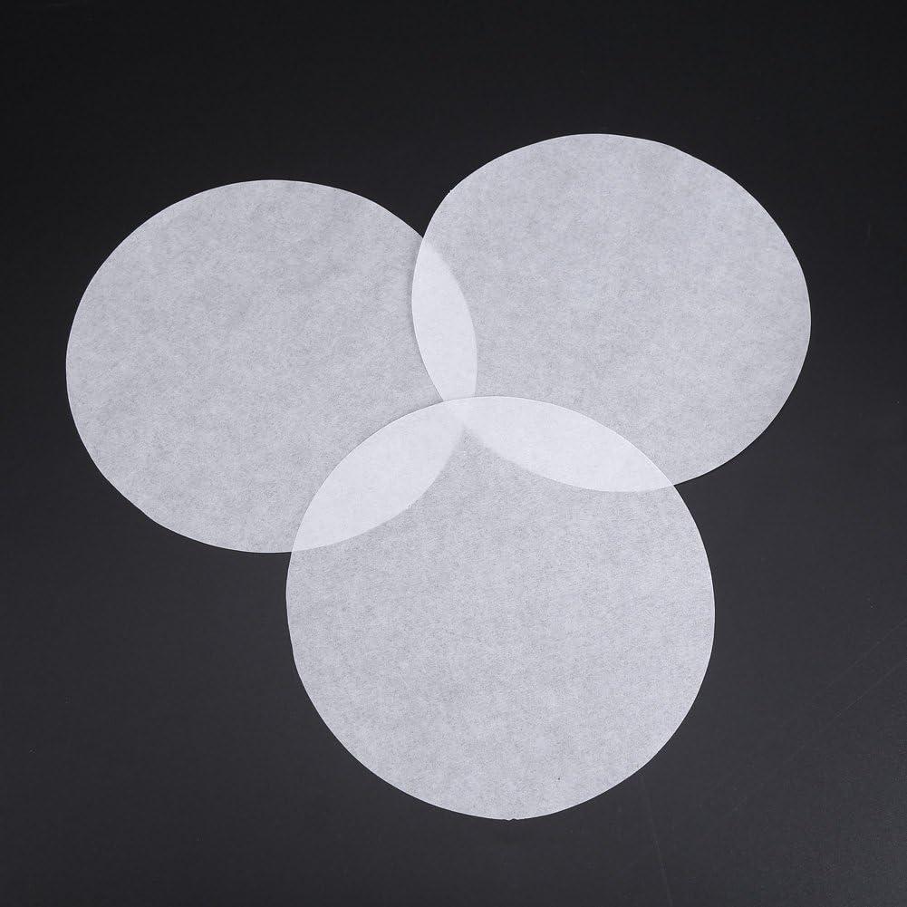 Papier Rond pour Four /à Absorption dhuile de 100pcs 6//8//10 Pouce Rond #1 Huairdum Papier pour Barbecue