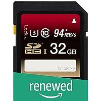 (Renewed) Sony SDHC UHS-I 32GB Memory Card - 94 MB/s