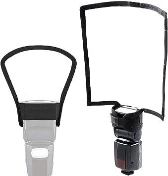 Sony // Universal Flash de Cámara Rebote Reflector Difusor para Canon//Nikon