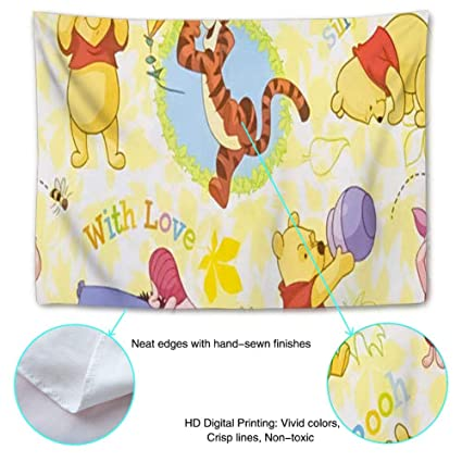 Amazoncom Disney Collection Tapestry Winnie Pooh Wallpaper