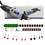 Rotary Tool Kit Multifunctional Power Tool Set,10.6 Inch 6 Step Variable Speed Electric Drill Grinder for Crafting Projects and DIY Creations