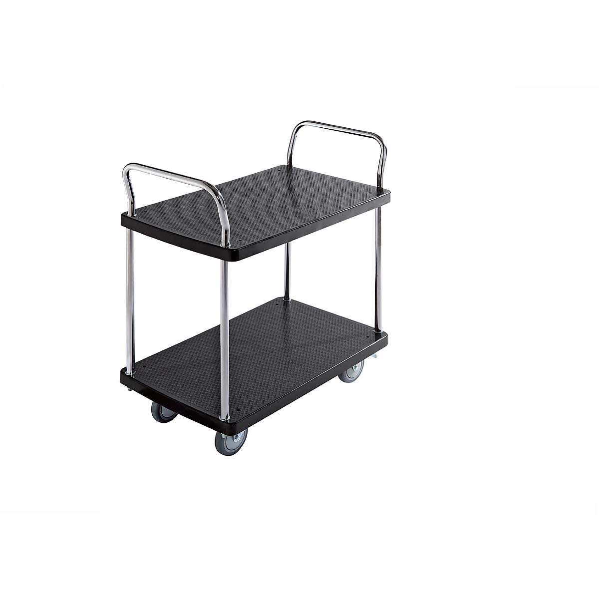 Servir de mesa carro - 2 pisos, 2 manija - Capacidad De Carga 150 ...