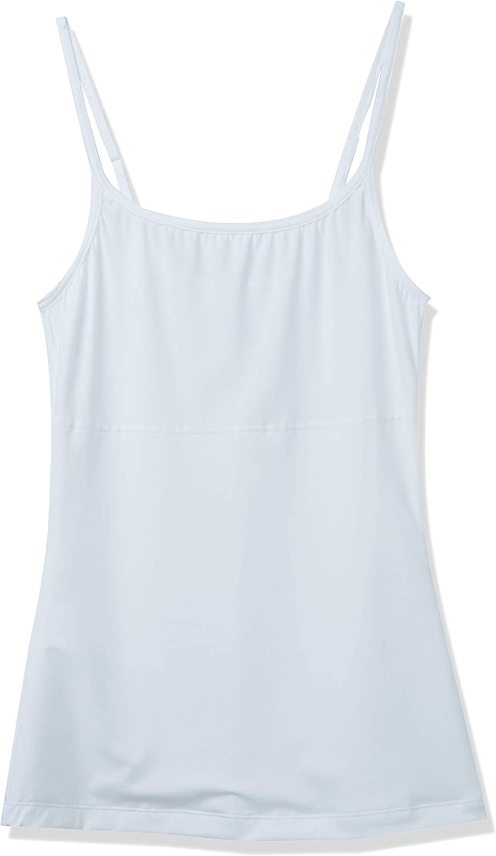 Maidenform Flexees Womens Shapewear Long Length Tank,White,Large