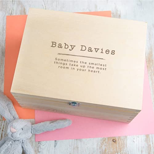 amazon com personalized baby keepsake box unisex baby shower