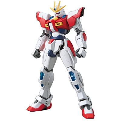 "Bandai Hobby HGBF Build Burning Gundam ""Gundam Build Fighters Try"" Action Figure (1/144 Scale): Toys & Games"