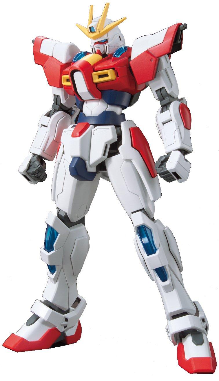 Bandai Hobby HGBF Build Burning Gundam Gundam Build Fighters Try Action Figure 1//144 Scale Bluefin Distribution Toys BAN193230