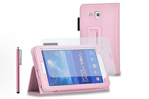 """155 opinioni per Custodia per Samsung Galaxy Tab 3 Lite 7"""" T110/T111 + Pellicola protettiva +"""