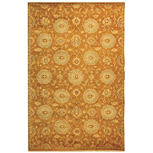 Safavieh Samarkand Collection SR813C Hand-Knotted Multicolored Wool Area Rug (9' x 12') - Samarkand Collection