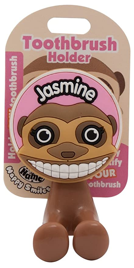 Amazon.com: John Hinde My Name Jasmine Toothbrush Holders: Toys & Games