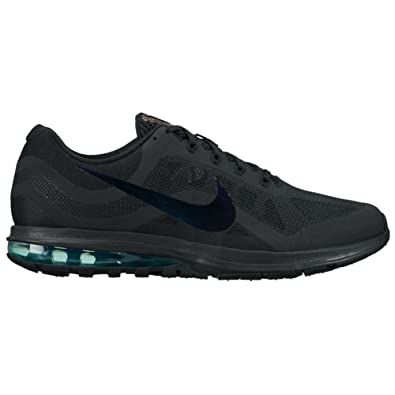online retailer 7f530 4fbbc Amazon.com   NIKE New Men s Air Max Dynasty 2 Running Shoe Black Clear Jade  10   Road Running