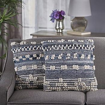 Amazon.com: Earth Primera Jeans Denim y del cáñamo Pillow ...